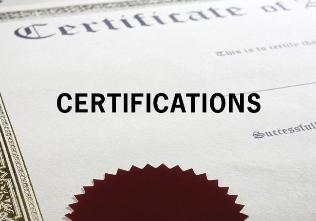 CERT Our Company Page