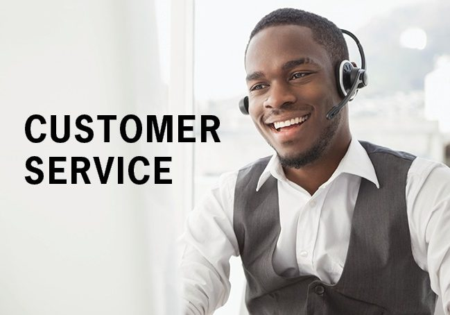 CUSTOMER SERVICE Our Company Page
