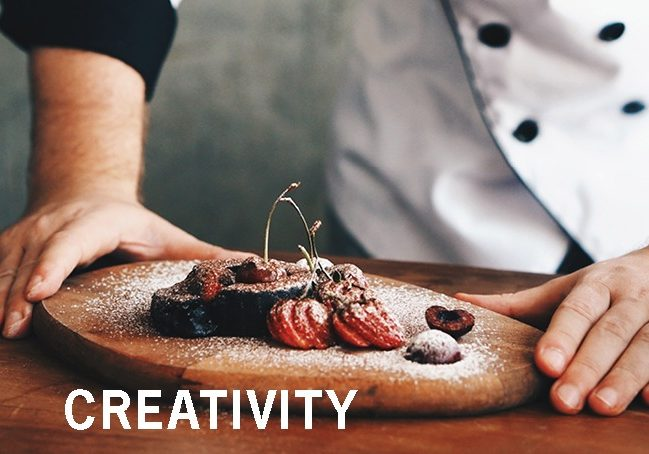 CREATIVITY Flavor Page