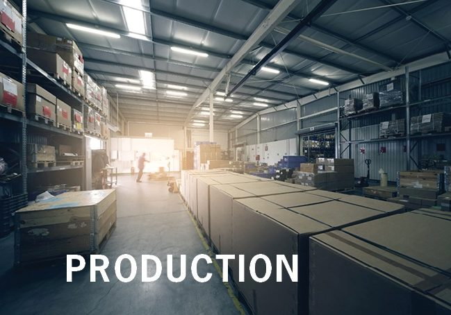 PRODUCTION Our Company Page