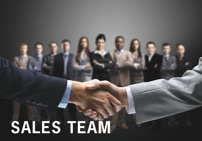 SALES TEAM Our Company Page
